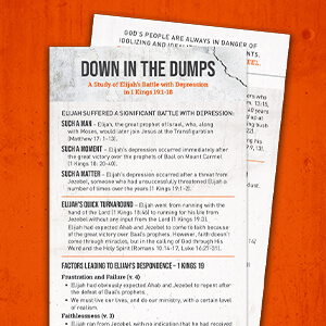 KTT Down In The Dumps Study Card